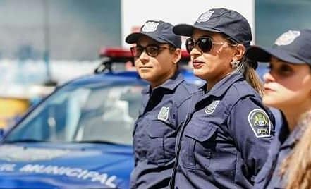 Marília Viana foi uma das líderes da greve da guarda municipal que durou cerca de 30 dias. Crédito: Arquivo pessoal/candidata