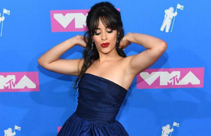 Camila Cabello venceu na categoria Artista do Ano. Foto: MTV/Divulgação