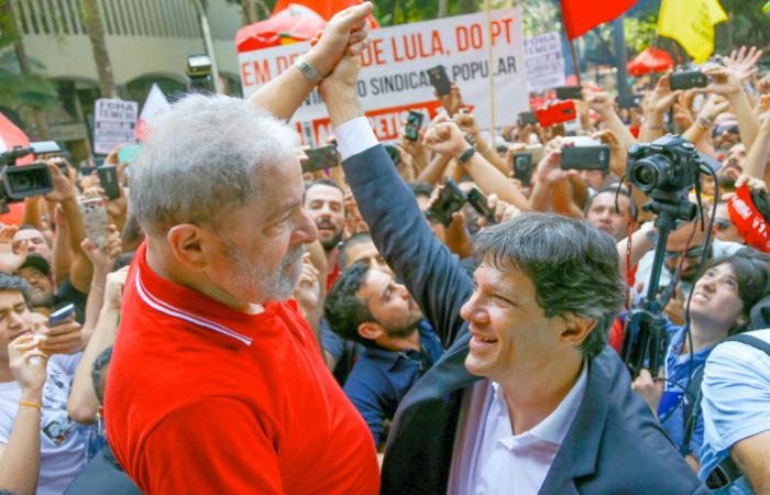"""O desafio, para o PT, é fazer chegar ao eleitorado a informação de que Haddad é o """"plano B"""". Foto: Ricardo Stuckert"""