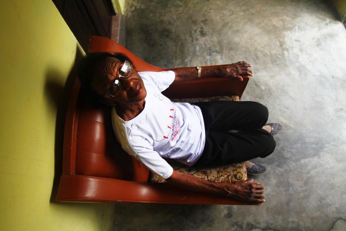 A casa libertou Eunice da escravidão de viver em moradia de patrões desde os 12 anos. Crédito: Peu Ricardo/DP (Peu Ricardo/DP)