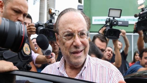 Nesta quarta, a Mesa Diretora cassou Maluf, condenado pelo Supremo Tribunal Federal a 7 anos de prisão por lavagem de dinheiro. Foto: Sergio Lima/AFP (Foto: Sergio Lima/AFP)