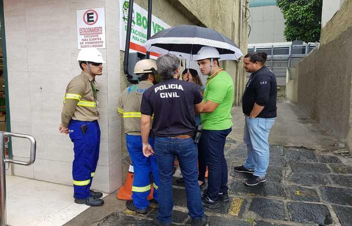 Equipes da Polícia e técnicos da Celpe fizeram fiscalização nos estabelecimento nesta quarta-feira. Foto: PCPE/Divulgação