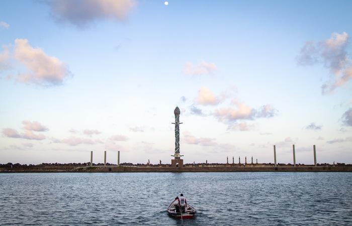 O parque é um dos mais importantes pontos turísticos do Recife está ligado ao bairro de Brasília Teimosa. Foto: Leo Malafaia/Esp DP