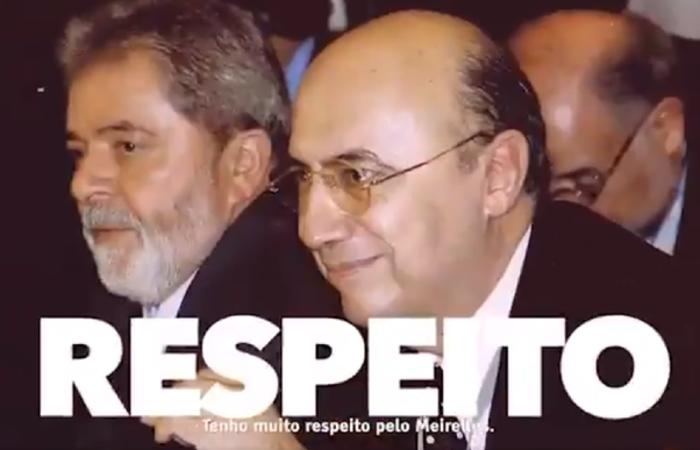 Meirelles foi presidente do Banco Central durante os oito anos do governo Lula. Foto: Reprodução/Twitter