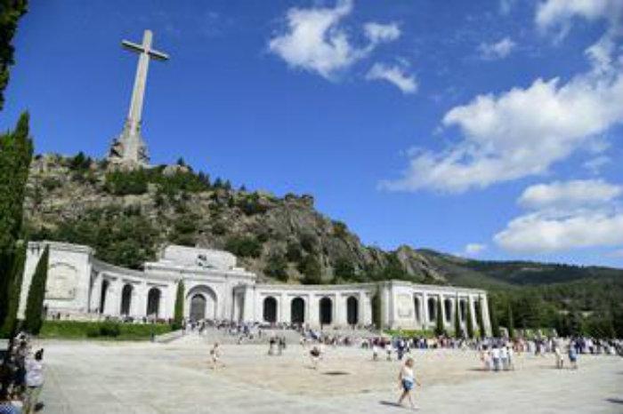 Francisco Franco está enterrado na basílica no Vale dos Caídos, em San Lorenzo del Escorial, próximo à Madri. Foto: Javier Soriano/ AFP