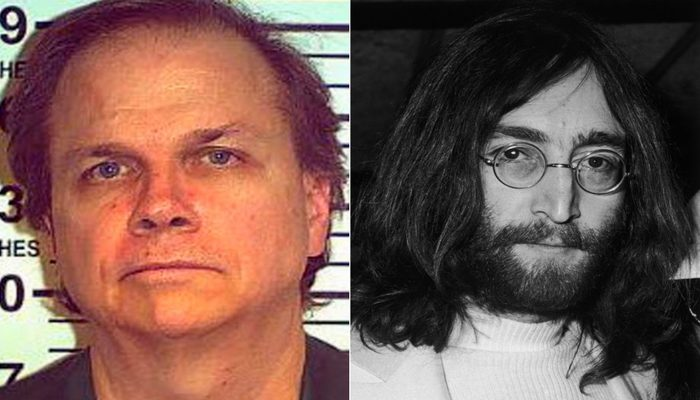 Chapman recebeu uma sentença de prisão perpétua, após ter se declarado culpado da acusação de assassinato em segundo grau. Foto: Reprodução/Internet