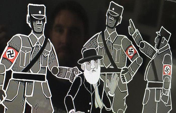 """""""Through the Darkest of Times"""" é o primeiro jogo vendido na Alemanha que mostra sem filtros o período nazista. Foto: AFP (Foto: AFP)"""