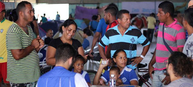 Refugiados venezuelanos buscam em outros países melhores condições de vida. Foto: Acnur/Reynesson Damasceno
