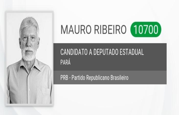 Mauro Ribeiro era presidente do Tribunal Arbitral no Pará em 2003 e foi condenado por ter tentado usar de sua função para legalizar uma rádio clandestina. Foto: Eleições 2018 / Divulgação