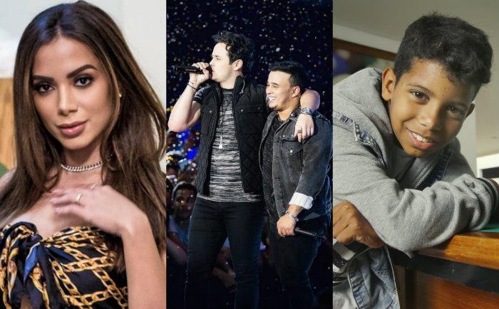 Artistas figuram na lista das músicas mais ouvidas em Pernambuco. Foto: Facebook/Reprodução/Marlon Diego/DP