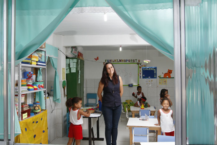 ONG Gabriela Feliz dobrou atendimento graças à plataforma. Foto: Rafael Martins/DP.