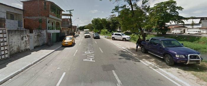 Serviço vai interditar totalmente um trecho de 500 metros da avenida no sentido Peixinhos/Arruda. Foto: Google Street View/Reprodução.