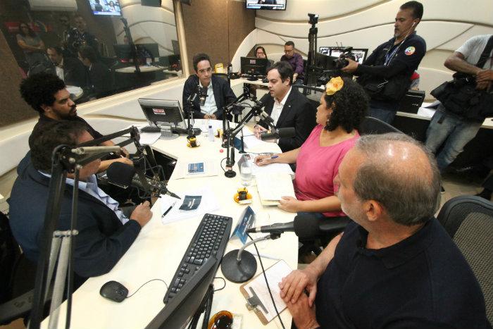 Rands, Paulo, Dani e Armando apresentaram suas principais propostas ontem. Foto: Peu Ricardo/DP