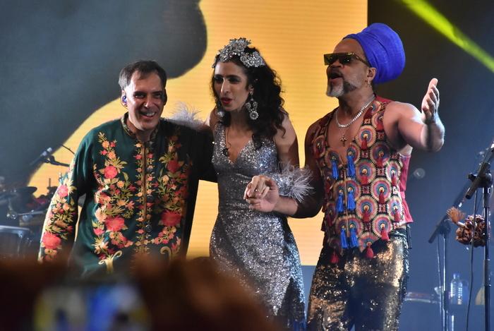 Artistas se apresentaram no Recife, no dia 10 de agosto, no Centro de Convenções. Foto: Felipe Souto Maior/Divulgação