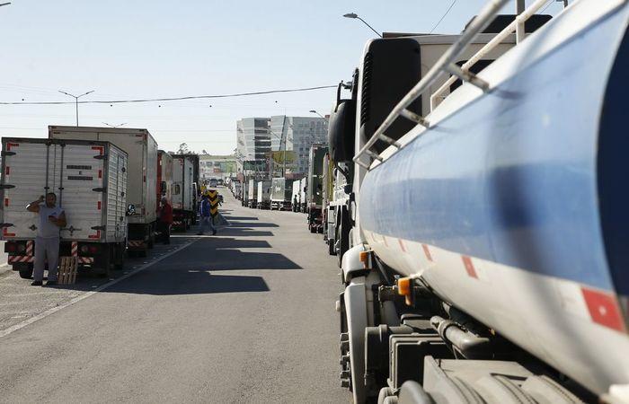 Foram multadas 151 empresas durante a paralisação dos caminhoneiros. Foto: Tomaz Silva/ Agência Brasil
