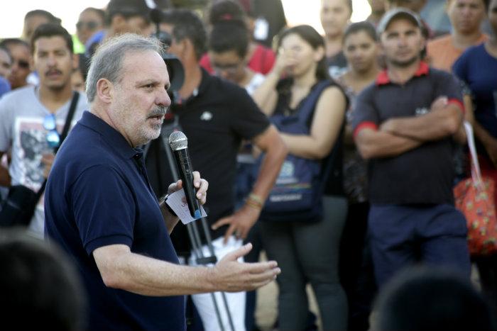 Armando Monteiro enfatiza que o estado está andando em um ritmo mais lento. Foto: Ricardo Labastier/Divulgação
