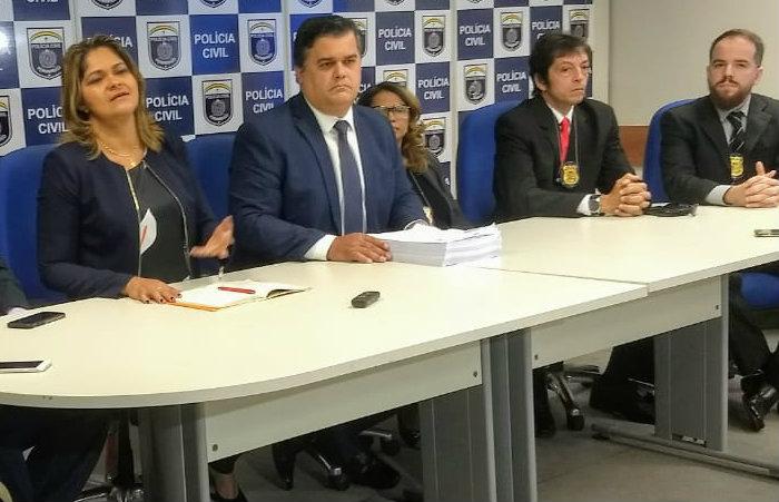 Polícia Civil apresentou resultado da investigação nesta sexta. Foto: Divulgação/PCPE