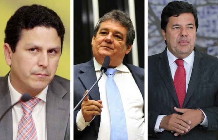 Bruno Araújo (E), Silvio Costa e Mendonça Filho. Fotos: Reprodução / Wikipédia, Reprodução / Wikipédia, Reprodução / Flickr