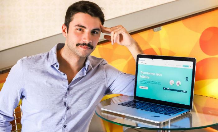 Felipe Couto diz que trabalha com ciência comportamental para mudar a mentalidade. Foto: Filipe Ramos/Divulgação