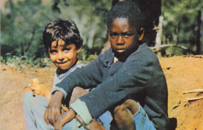 Reportagem afirma que Milton, amigos e Cacau e Tonho se tornaram o rosto do Brasil. Foto: Arquivo