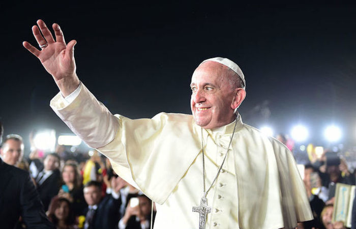 O papa Francisco, alvo de ataques de um setor ultraconservador da Igreja. Foto: reprodução/Internet