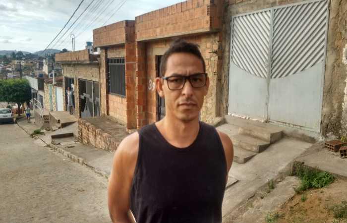 Willians não reagiu a prisão. Imagem: PCPE/Divulgação