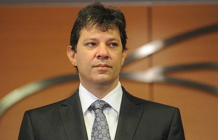 Haddad deve conversar com a imprensa até o final da tarde desta segunda-feira (3). Foto: Arquivo/ Agência Brasil