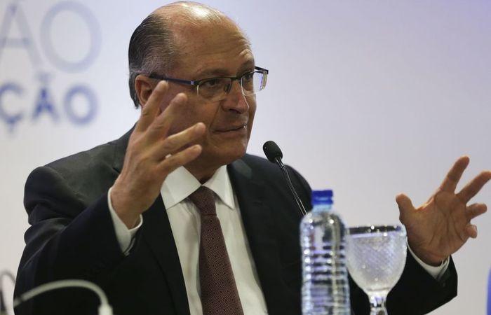 Alckmin falou em visita ao hospital Santa Marcelina, em Itaquera, Zona Leste da capital paulista. Foto: José Cruz/ Agência Brasil