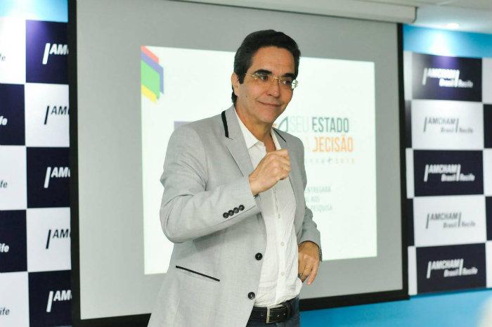 Rands participou de evento da Amcham Recife. Foto: Keila Castro/Divulgação