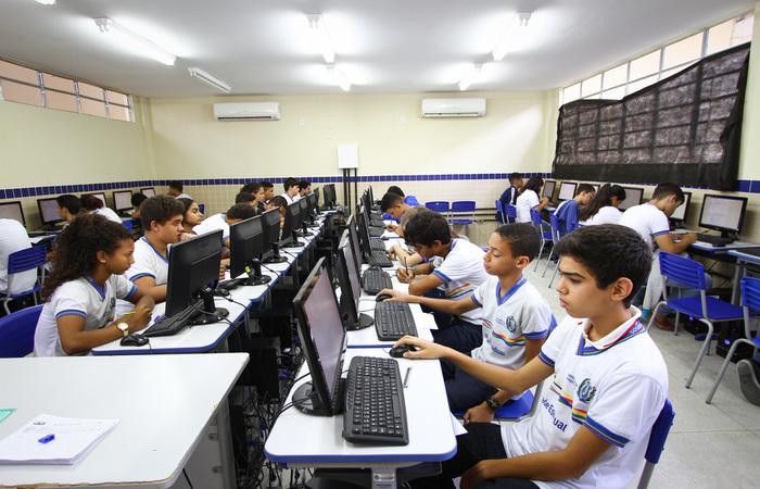 Desde 2013, o Estado se mantém na primeira colocação, tornando a escola da rede estadual a mais atrativa do País. Imagem: Arquivo/DP