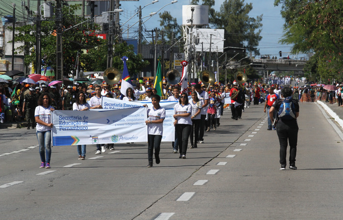 Desfile acontece nesta sexta-feira na Avenida Marechal Mascarenhas de Morais, na Imbiribeira. Foto: Arquivo/DP