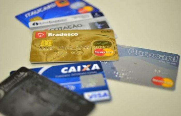 O cartão de crédito é responsável por 76,8% das dívidas. Foto: Arquivo/Agência Brasil