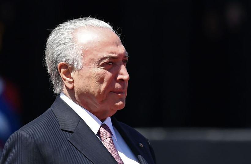 Chefe de governo teria participado de jantar, em 2014, no qual emedebistas solicitaram R$ 10 milhões ao grupo Odebrecht para campanhas eleitorais. Foto: AFP / EVARISTO SA