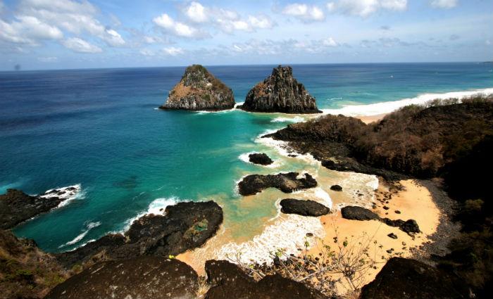 Em Fernando de Noronha, os Estados Unidos foi o segundo principal país emissor de turistas. Foto: Antonio Melcop/Divulgação