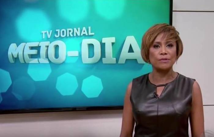 Jornalista Graça Araújo sofreu um mal estar súbito enquanto estava em uma academia nesta quinta-feira, quando foi internada no Hospital Esperança. (Reprodução / TV Jornal)