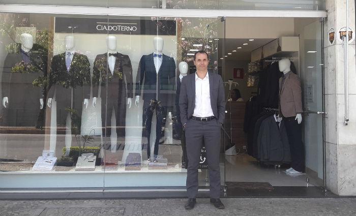 Bernardo Magalhães credita sucesso a time de vendedores. Foto: Cia do Terno/Divulgação