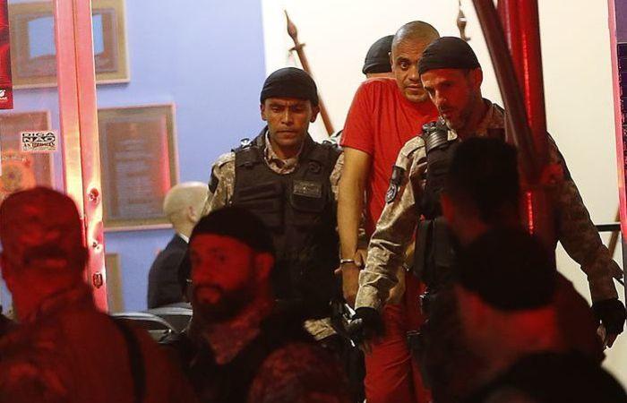 Adelio confessou o crime e, no sábado (8), foi transferido para um presídio federal no Mato Grosso do Sul, onde cumpre prisão preventiva. Foto: Tomaz Silva/Agência Brasil