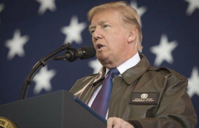Trump lembrou que o furacão deve atingir áreas costeiras na Carolina do Sul, Carolina do Norte e Virgínia. Foto: Reprodução/Internet