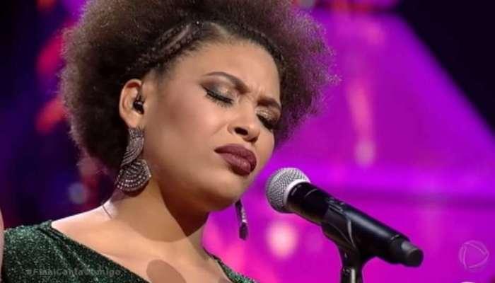 Em sua primeira participação no programa, ela havia cantado Ain't no mountain high enough, de Marvin Gaye. Foto: