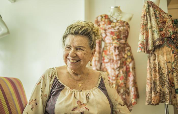 Glória mora há cinco décadas na Rua Ferreira Lopes, uma das mais elegantes. Foto: Camila Pifano/Esp. DP