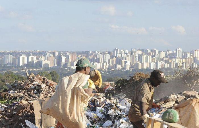 O estudo também constatou um aumento na quantidade de lixo produzida. Foto: Arquivo / Agência Brasil
