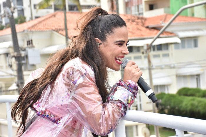 Wanessa cantou sucessos dos 18 anos de carreira. Foto: Felipe Souto Maior/Cortesia