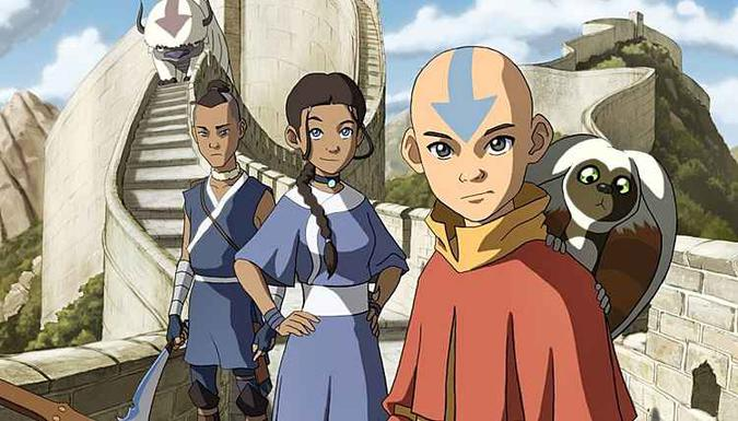 Animação acompanha as aventuras do protagonista Aang e seus amigos, que juntos precisam derrotar o senhor do fogo Ozai (foto: Nickelodeon/Divulgação)