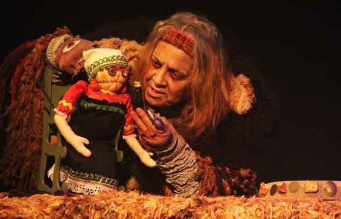 Baba Yaga é o primeiro monólogo da atriz Sônia Carvalho. Foto: Divulgação