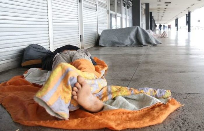 o 1º Censo e Pesquisa Nacional sobre População em Situação de Rua e apontou um total de 31.922 pessoas nessa situação. Foto: José Cruz.Agência Brasil