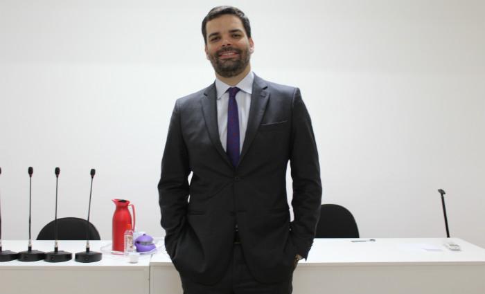 Felipe assumiu o cartório há dez anos, após ser aprovado em concurso público. Foto: Gustavo Penteado/Divulgacao (Foto: Gustavo Penteado/Divulgacao)