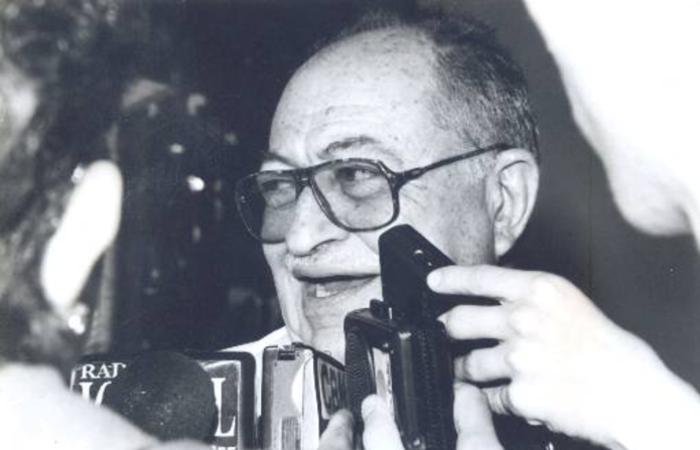 Arraes, então governador de Pernambuco, em 1995. Foto: Clemilson Campos/DP/D.A Press