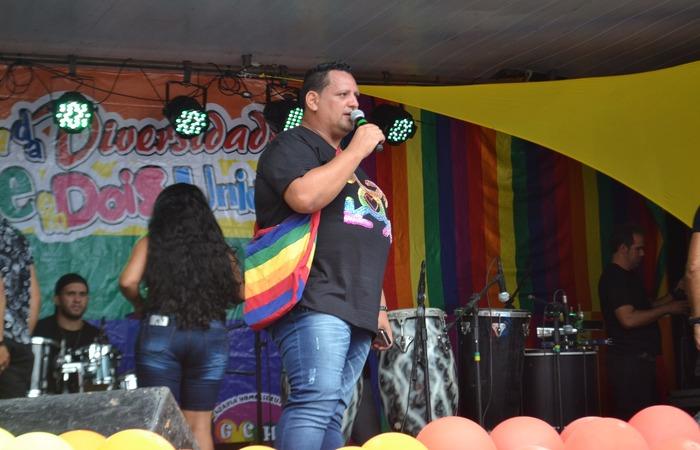 Ricardo Santos, idealizador da Parada da Diversidade em Dois Unidos. Foto: Rafael Félix/Divulgação