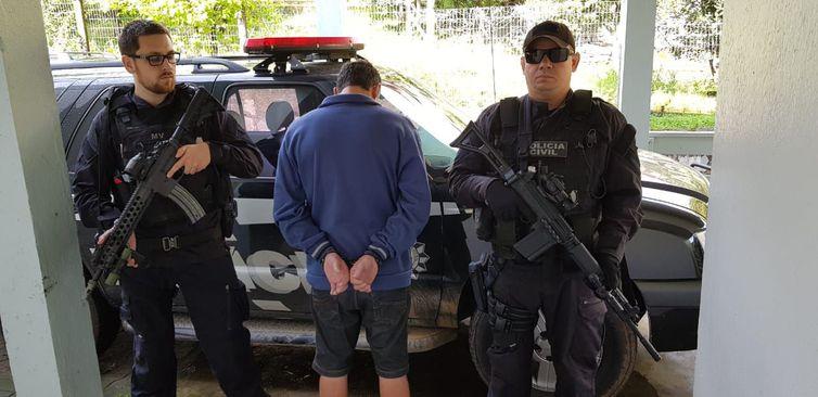 Policiais civis de todo o país cumprem mandados de prisão contra autores de crimes de latrocínio. Foto: Divulgação/Polícia Civil do Rio Grande do Sul