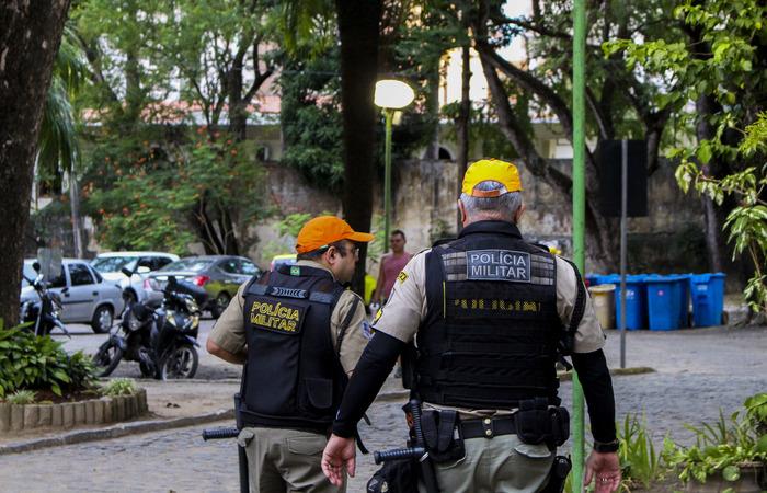 A Polícia Militar, que só atuava no entorno do equipamento, reforçou a segurança. Foto: Marina Curcio/ Esp. DP